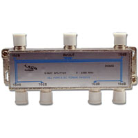 DC62G * DIRECTCONNECT 6WAY 2GHZ DC PASSING PCB SPLITTER