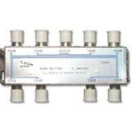 DC82G * DIRECTCONNECT 8WAY 2GHZ DC PASSING PCB SPLITTER