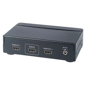 DCHS12 * DIRECTCONNECT HDMI 1IN 2OUT DISTRIBUTION AMPLIFIER HDCP 1080P SAME VIDEO TO 2 SOURCES POWER SUPPLY INCLUDED EDID