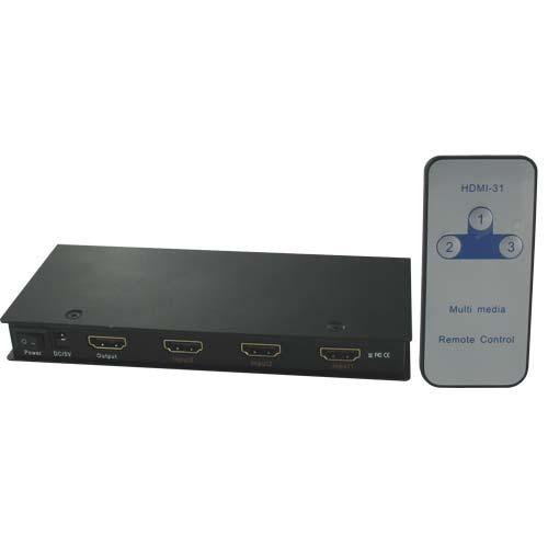 DCHS31 DIRECTCONNECT 3X1 HDMI SWITCH