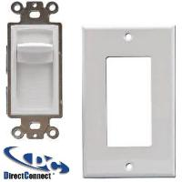 DCVC50SDSW * 24PK DIRECTCONNECT 50W SLIDE VOLUME CONTROL IMPEDANCE AND NON IMPEDANCE WHITE WITH DECORATOR PLATE