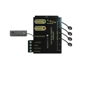 DCIRKIT6 * DIRECTCONNECT CONNECTING 6W BLOCK, SURFACE MOUNT RECEIVER, 4 TALKBACK EMITTERS AND POWER SUPPLY