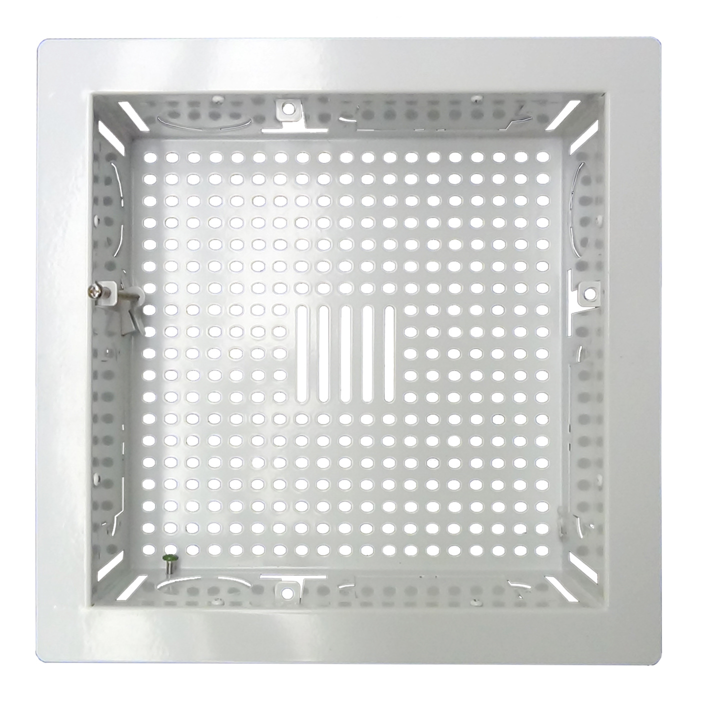 """DCTVBB * WHITE DIRECTCONNECT FLAT PANEL BACK BOX MOUNTING GRID FOR TV ACCESSORIES NEW AND EXISTING CONSTRUCTION 10"""" x 10"""""""