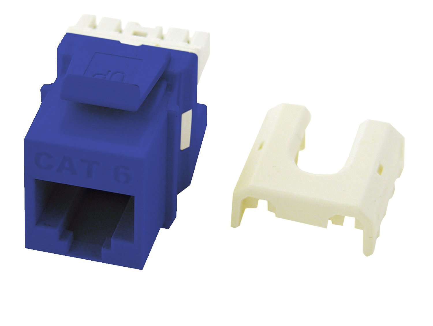 Installation Hardware Accessories Plates Keystone Inserts Wiring Rj45 Jack Wp3476 Be Onq Quick Connect Cat6 Insert Blue