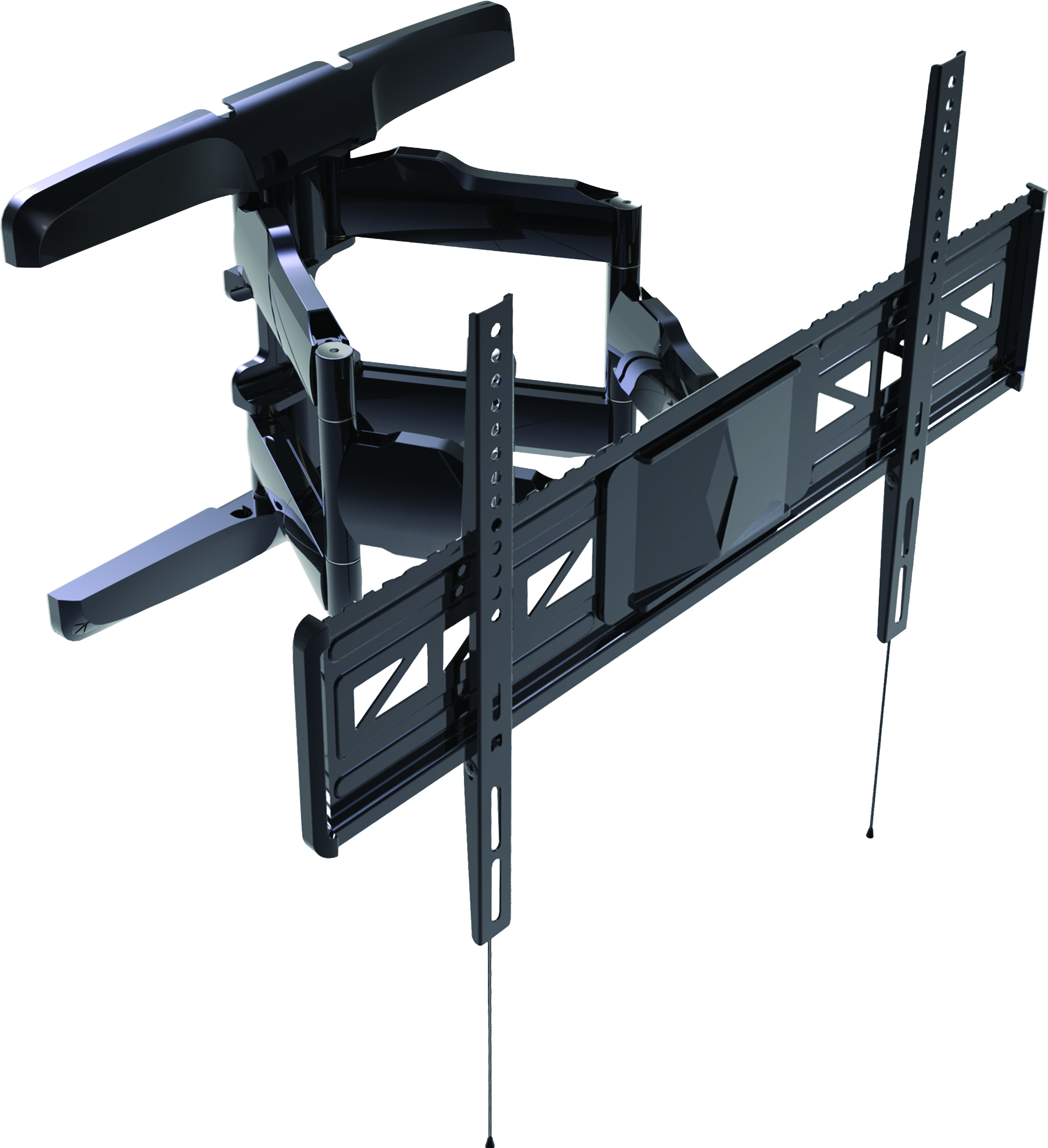 """DCA4790 DIRECTCONNECT FLAT LCD/PDP ARTICULATING TILTING MOUNT FOR 47""""-90"""" BLACK 800X600 VESA LEVEL 2"""" - 17"""" EXTENSION 130LBS MAX **EXTRA FREIGHT ITEM**"""